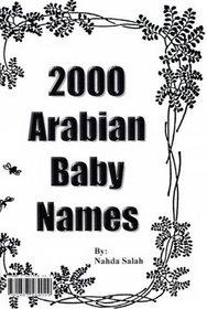 2000ArabianBabyNames