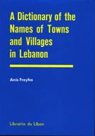 A Dictionary Lebanese Towns & Villages