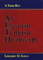 An English Turkish Dictionary