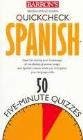 Barron's Quickcheck Language: Spanish