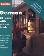 Berlitz German CD Pack & Phrase Book