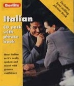 Berlitz Italian CD Pack and Phrase Book