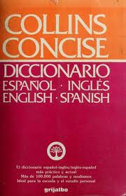 Collins Concisedictionary Español-Inglés English-Spanish