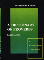 Dictionary of English and Arabic Proverbs