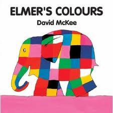 Elmer Series: Elmer's Colours (English-Chinese)