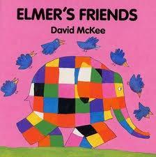 Elmer Series: Elmer's Friends (English-Chinese)