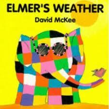 Elmer Series: Elmer's Weather (English-Chinese)