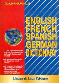 English French Spanish German Dictionary