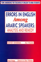 Errors in English Among Arabic Speakers