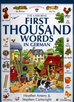 First 1000 Words in German