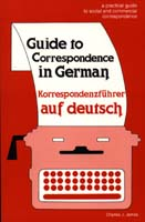 Guide to Correspondence in German