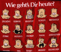 How Do You Feel Today? GermanT-Shirts