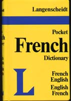 Langenscheidt Pocket French-English Dictionary
