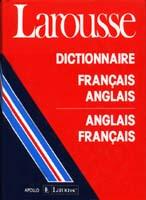 Larousse French-English/English-French Dictionary