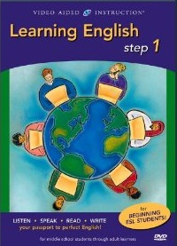 Learning English Steps 1-2-3 DVD