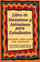 Libra de Sinonimos y Antonimos Para Estudiantes