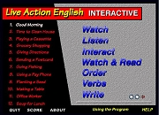 Live Action English INTERACTIVE