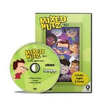 Teach Kids Arabic: DVD Mixed Nutz Vol 2 'The Adventures of Babak, Jae & Gang' (Episodes 1-3)