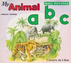My Animal ABC Wall Pictures (English-German)