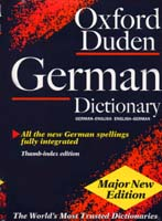 Oxford-Duden German Dictionary