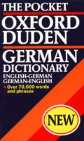 Oxford-Duden Pocket German Dictionary