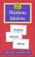 Palabras Basicas Flashcards