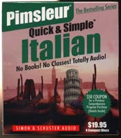 Pimsleur Quick & Simple Italian