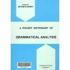 Pocket Dictionary of Grammatical Analysis
