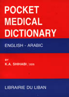 Pocket  English-Arabic Medical Dictionary