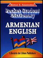 Pocket Student Dictionary Armenian-English