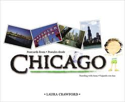 Postcards from Chicago / Postales desde Chicago (Bilingual English/Spanish) (Spanish and English Edition)