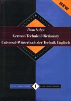 Routledge Technical Dictionary Vol. 1 (German/English)