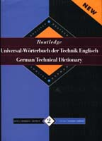 Routledge Technical Dictionary Vol. 2 (English/German)