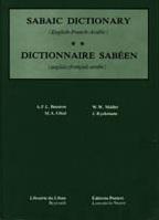 Sabaic Dictionary English/French/Arabic