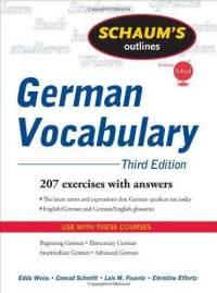 Schaum's Outline Series - German Vocabulary