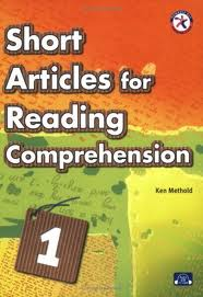 Short Articles for Reading Comprehension 1, w/CD
