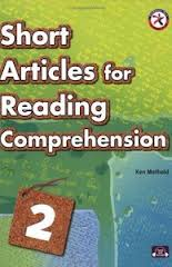 Short Articles for Reading Comprehension 2, w/CD