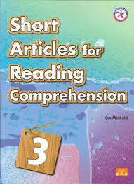 Short Articles for Reading Comprehension 3, w/CD