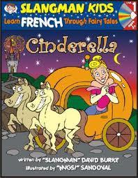 Slangman Kids: Cinderella (French) Level 1/Audio CD