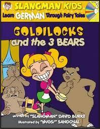 Slangman Kids: Goldielocks & the 3 Bears (German) Level 2/Audio CD