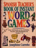 Spanish Teacher's Book of Instant Word Games