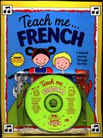 Teach Me French Book & CD