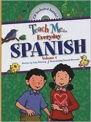 Teach Me Everyday Spanish Vol 1