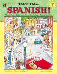 Teach Them Spanish!-Grade 5