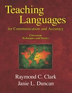 Teaching Languages for Communication and Accuracy