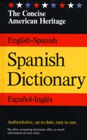 The American Heritage Concise Spanish/English Dictionary