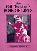 The ESL Teachers Book of Lists