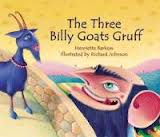 The Three Billy Goats Gruff (German/English)