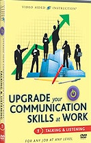 Upgrade Your Communication Skills at Work: Talking & Listening DVD