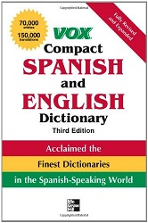 Vox Compact Spanish and English Dictionary, Third Edition